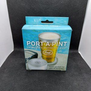 3 Fred Port-A-Pint Folding Beer Glass